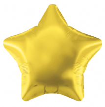 "Gold Star Foil Balloon (19"" Oaktree) 1pc"